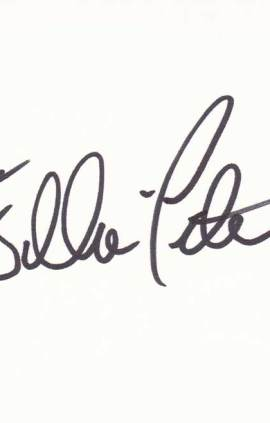 William Peter Blatty Autographed Index Card