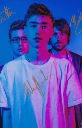 Years & Years In-person Autographed Photo