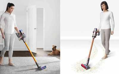 Dyson V8 vs. V10 | Vacuum cleaner comparison