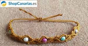 Pulsera Exclusiva Macramé ShopCanarias.es Cinco Colores