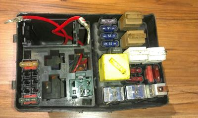 hight resolution of 93bg14411ac 93bg 14411 ac 7154 1015 fuse box ford mondeo 1996 1 9l