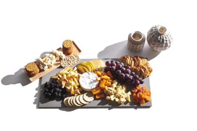 Cheese & Fruit Grazing Board
