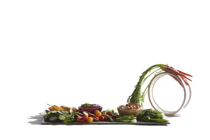 Vegetable Crudite Grazing Board