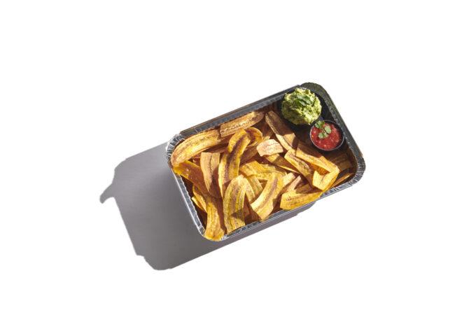 Plantain Chips & Guacamole