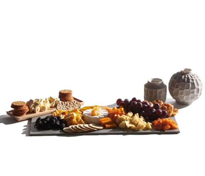 Cheese and Fruit Grazing Board