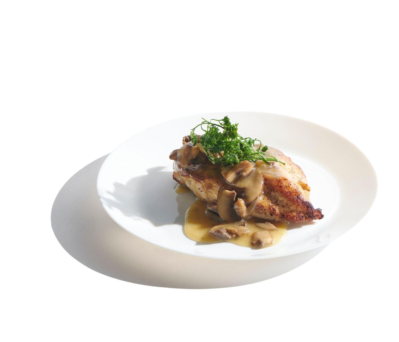 Chicken Madiera