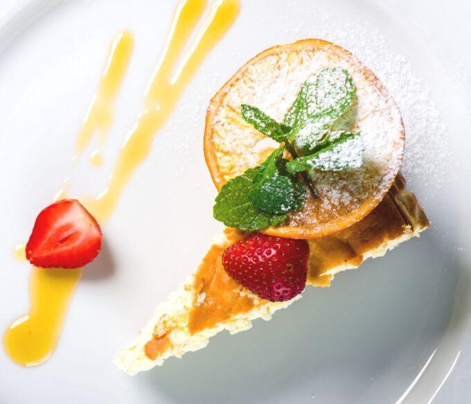 Citrus Zest Cheesecake