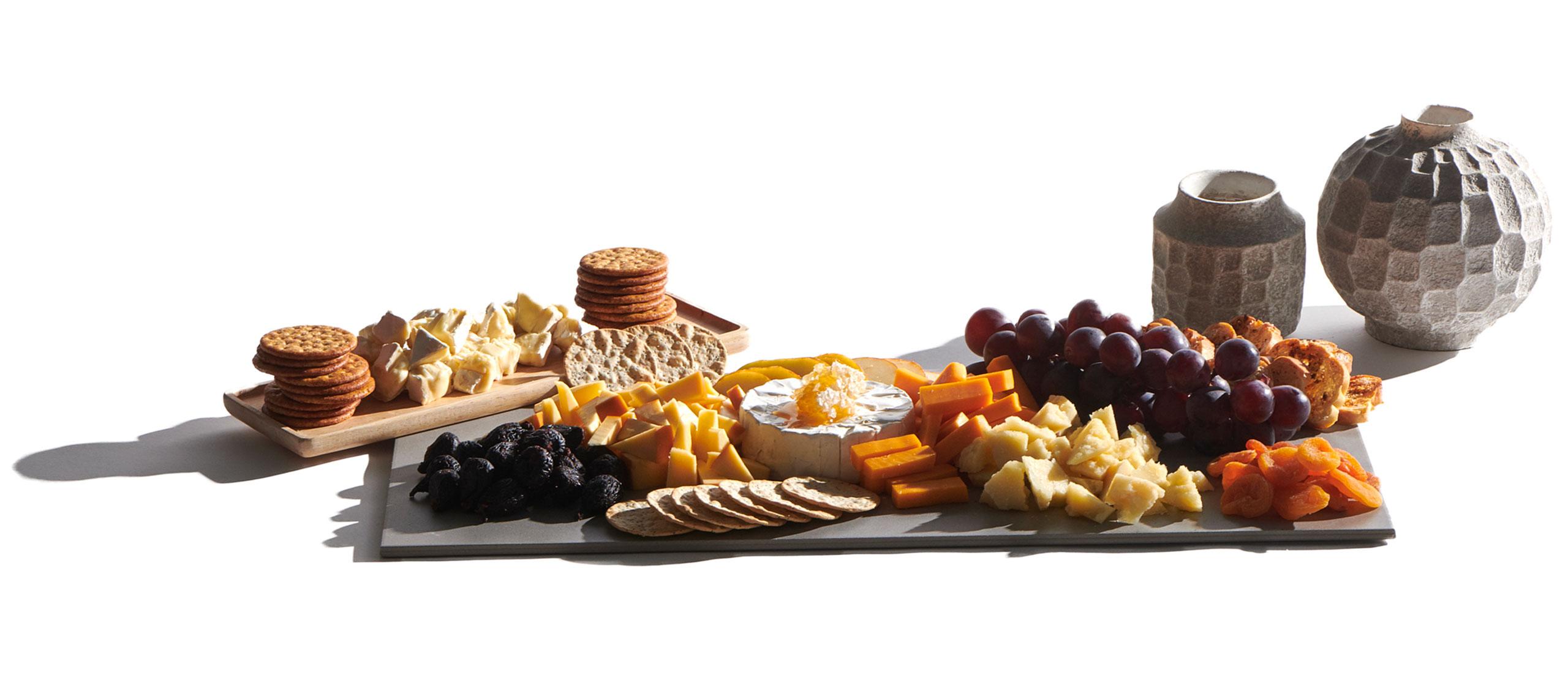 Fruit & Cheese Grazing Board