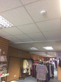 Barrow ceiling fixed