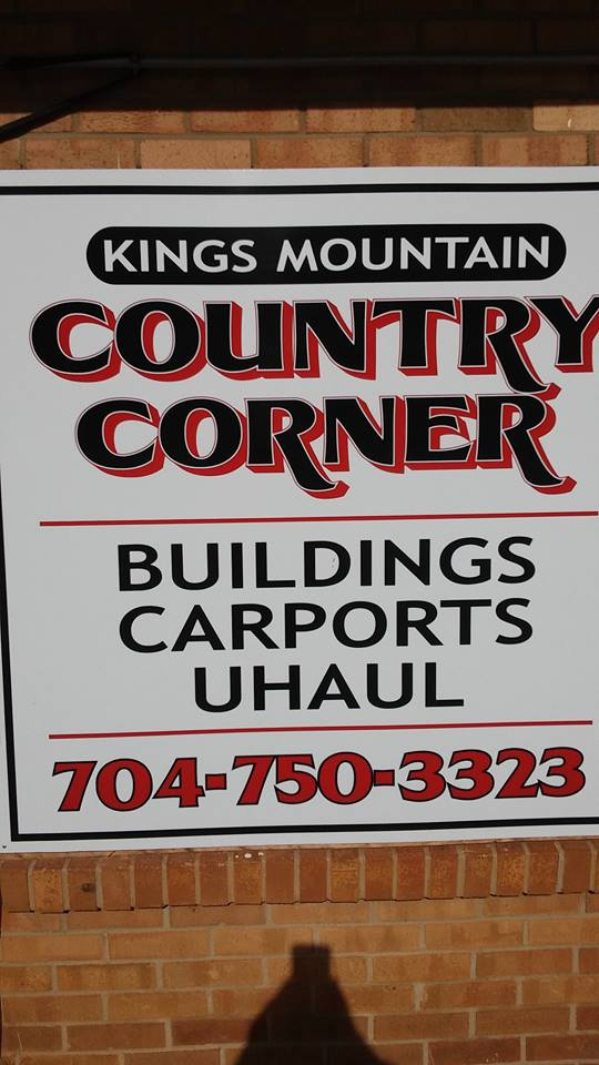 Kings Mountain Country Corner Amp Uhaul Storage Buildings