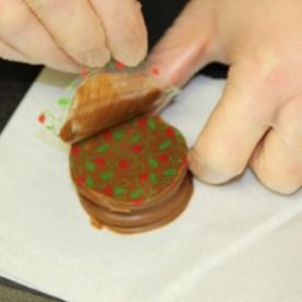 ritz cracker chocolate transfer sheet 2