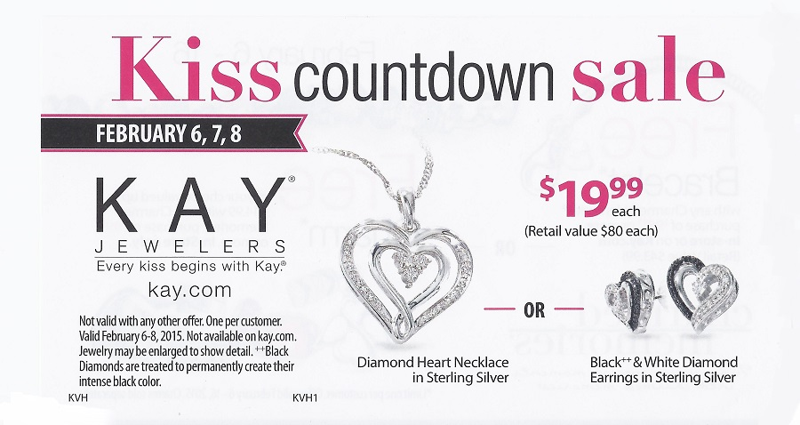 Clifton Park Center KAY Jewelers Valentines Day SALE