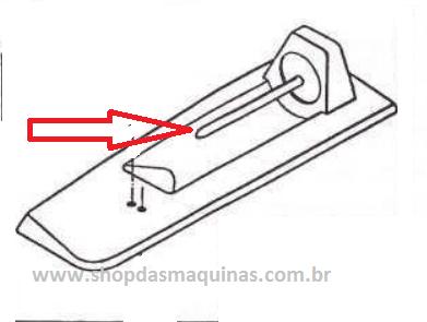 Porta carretel horizontal Singer