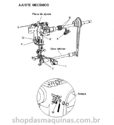 Maquina De Costura Genius Jx 4000