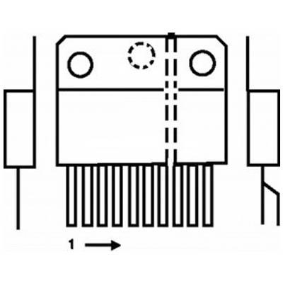 TDA 2611A IC
