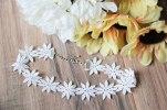Daze & Amaze Choker Necklace Floral Flower Embroidered Vintage Lace