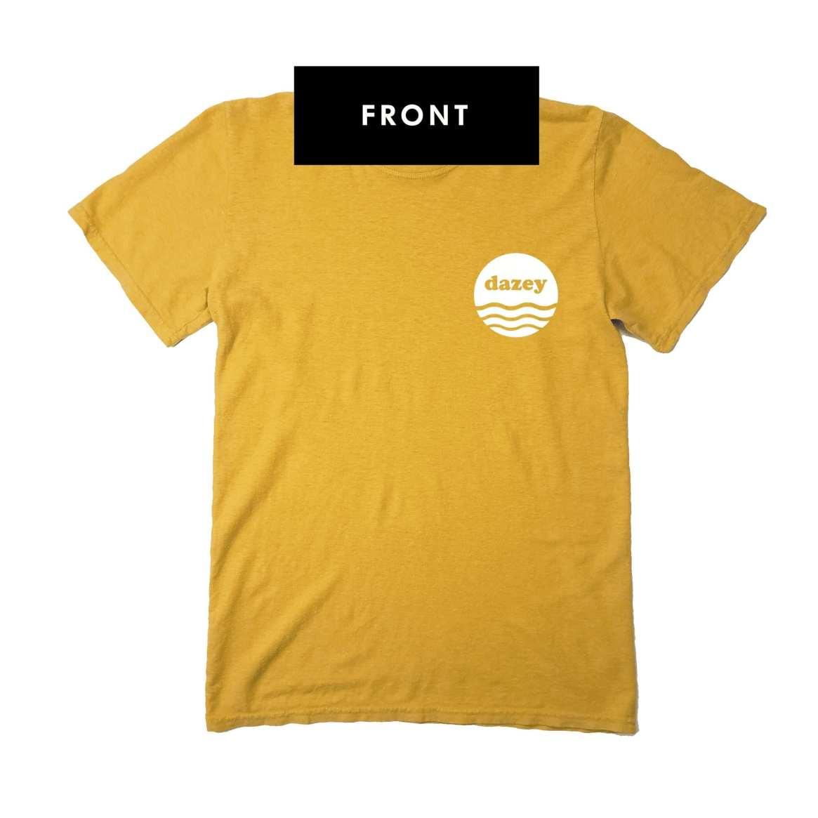 Front of hemp t-shirt