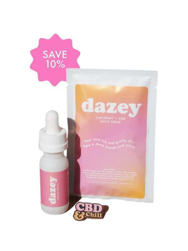 dazey mild bath soak and pin