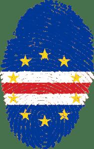 Cabo Verde Flag thumbprint