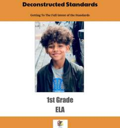 Illinois Learning Standards – Deconstructed Content Planning Manual 1st Grade  ELA (downloadable) – ShopDollar.com: Online Shopping for Teachers Saving on  Classroom Supplies [ 1056 x 816 Pixel ]