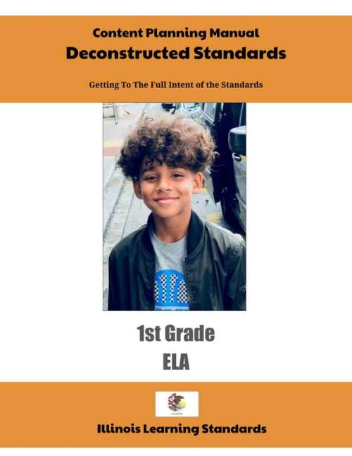 small resolution of Illinois Learning Standards – Deconstructed Content Planning Manual 1st Grade  ELA (downloadable) – ShopDollar.com: Online Shopping for Teachers Saving on  Classroom Supplies