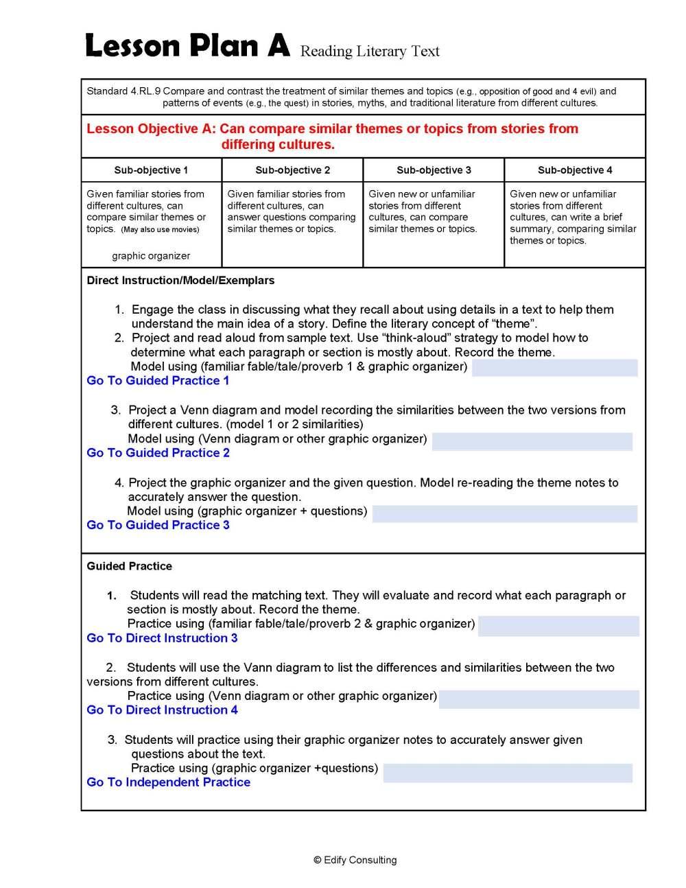 medium resolution of 4.RL.7 Lesson Plans 4th Grade ELA (2 Lesson Plans) – ShopDollar.com: Online  Shopping for Teachers Saving on Classroom Supplies