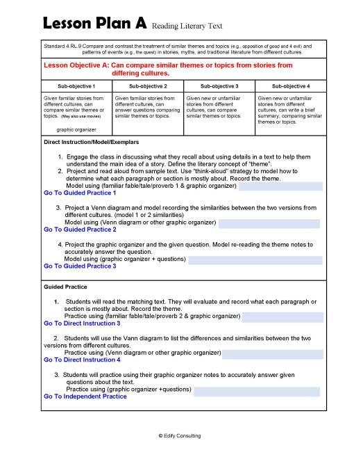 small resolution of 4.RL.7 Lesson Plans 4th Grade ELA (2 Lesson Plans) – ShopDollar.com: Online  Shopping for Teachers Saving on Classroom Supplies