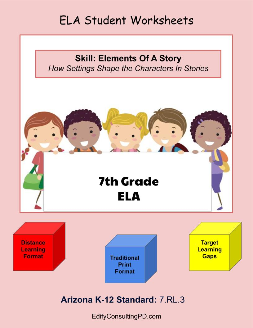 medium resolution of 7th Grade ELA Arizona Worksheets – ShopDollar.com: Online Shopping for  Teachers Saving on Classroom Supplies