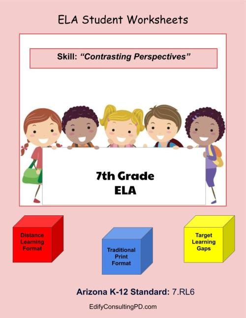small resolution of Arizona Worksheets 7.RL.6 – Contrasting Perspectives – ShopDollar.com:  Online Shopping for Teachers Saving on Classroom Supplies