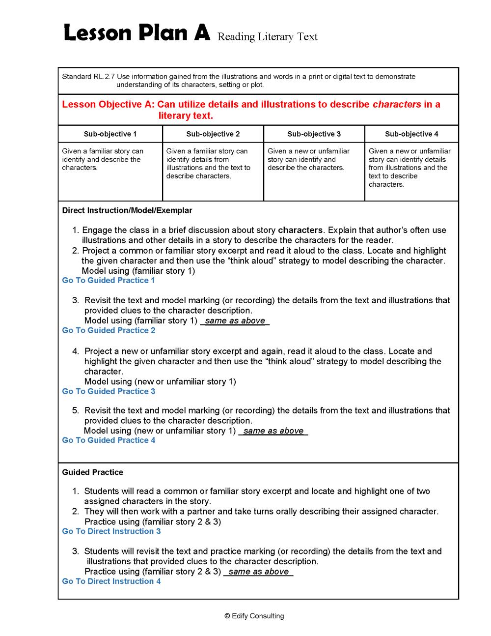 medium resolution of Alabama Lesson Plans RL.2.7 – ELA 2nd Grade (4 Lesson Plans) –  ShopDollar.com: Online Shopping for Teachers Saving on Classroom Supplies