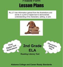 Alabama Lesson Plans RL.2.7 – ELA 2nd Grade (4 Lesson Plans) –  ShopDollar.com: Online Shopping for Teachers Saving on Classroom Supplies [ 1056 x 816 Pixel ]