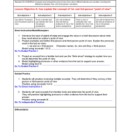 Georgia Lesson Plans ELAGSE4RL6 – ELA 4th Grade (2 Lesson Plans) –  ShopDollar.com: Online Shopping for Teachers Saving on Classroom Supplies [ 2200 x 1700 Pixel ]