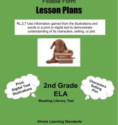 Illinois Lesson Plans RL.2.7 – ELA 2nd Grade (4 Lesson Plans) –  ShopDollar.com: Online Shopping for Teachers Saving on Classroom Supplies [ 1056 x 816 Pixel ]