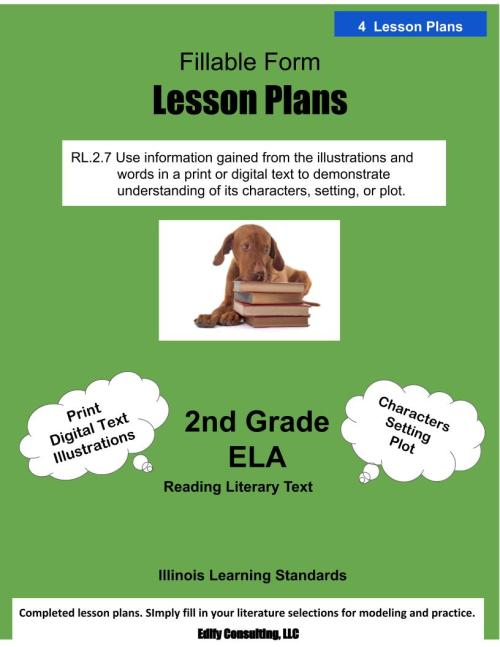 small resolution of Illinois Lesson Plans RL.2.7 – ELA 2nd Grade (4 Lesson Plans) –  ShopDollar.com: Online Shopping for Teachers Saving on Classroom Supplies