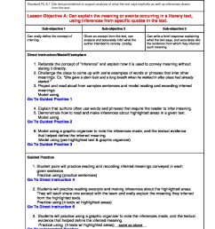 Illinois Lesson Plans RL.6.1 – ELA 6th Grade (1 Lesson Plan) –  ShopDollar.com: Online Shopping for Teachers Saving on Classroom Supplies [ 1408 x 1088 Pixel ]