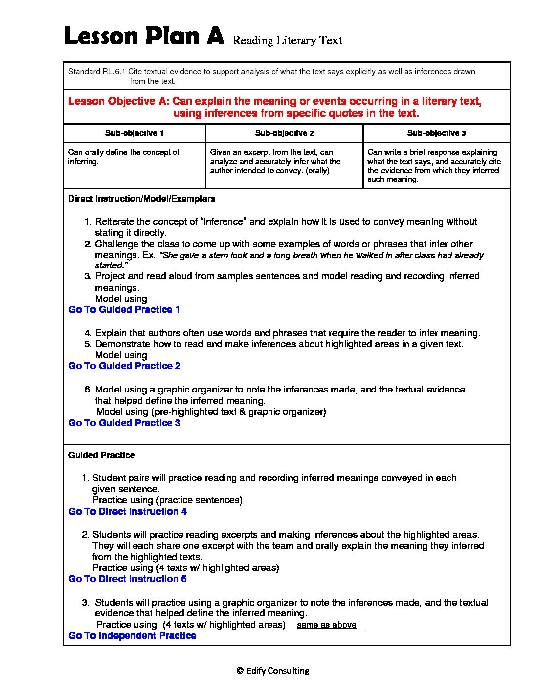 hight resolution of Illinois Lesson Plans RL.6.1 – ELA 6th Grade (1 Lesson Plan) –  ShopDollar.com: Online Shopping for Teachers Saving on Classroom Supplies