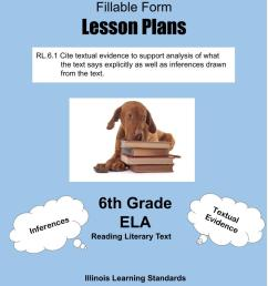 Illinois Lesson Plans RL.6.1 – ELA 6th Grade (1 Lesson Plan) –  ShopDollar.com: Online Shopping for Teachers Saving on Classroom Supplies [ 1056 x 816 Pixel ]