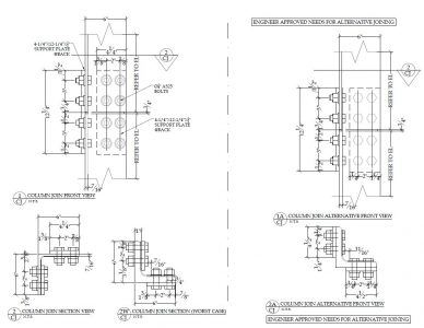 Structural Steel Shop Drawings
