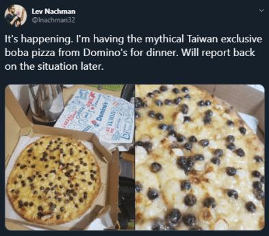 Pizza Boba