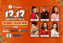 TV Show Shopee 12.12 Birthday Sale