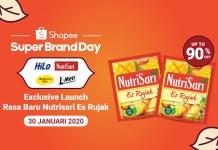 Nutrisari Es Rujak Shopee Super Brand Day