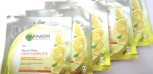 Garnier Serum Mask Light Complete Skin Care