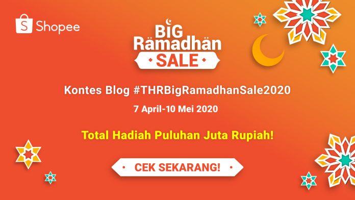 Inilah Empat Pemenang Kontes Blog #THRBigRamadhanSale2020 Bersama Shopee!