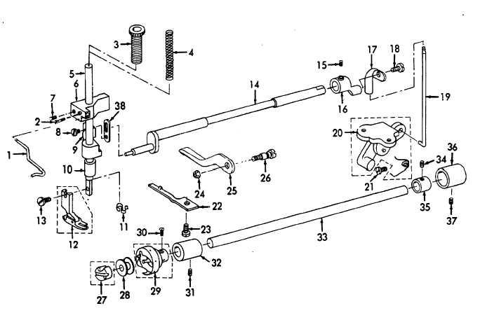 Figure 19. Presser Foot and Bobbin Mechanism.