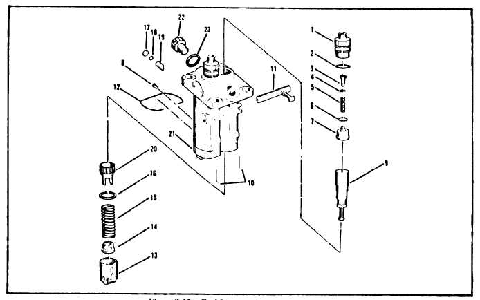 Figure 8-35. Fuel Injection Pump Subassembly