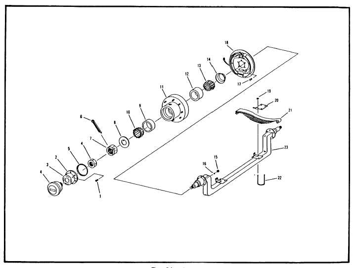 Figure 7-9. Axle Assembly