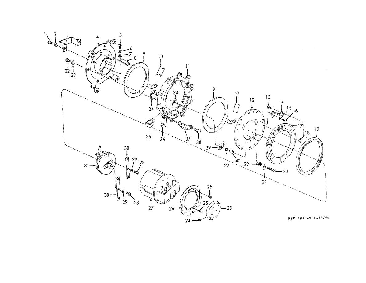 Figure 26 Ten Range Switch And Field Rheostat Disassembly And Reassembly