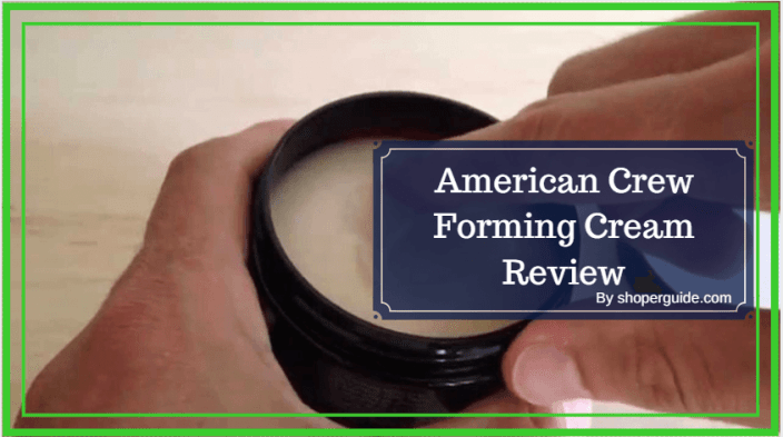 American Crew Forming Cream Review