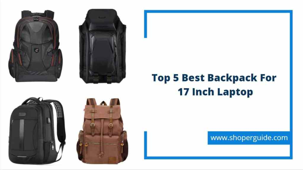 best backpack for 17 inch laptop