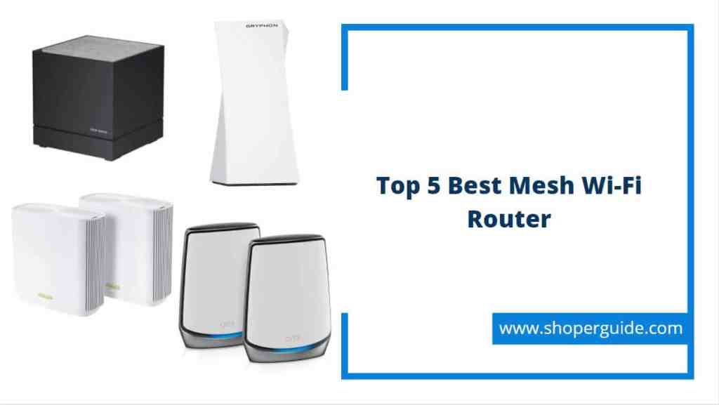 best mesh wi-fi router